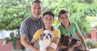 When not at work in Butuan, Jake makes sure he spends his time with family. The family man is a father, a mentor and a friend to his children.