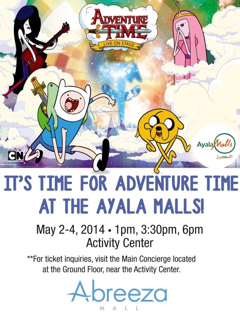 Adventure Time in Abreeza