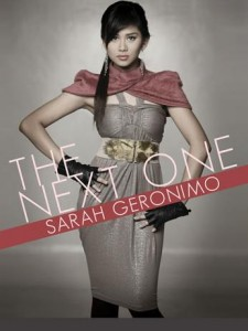 "Sarah Geronimo ""The Next One"" concert poster"