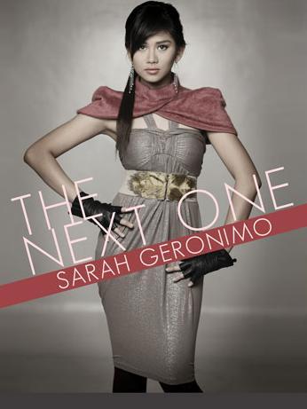 "Sarah Geronimo ""The Next One"" concert poster"
