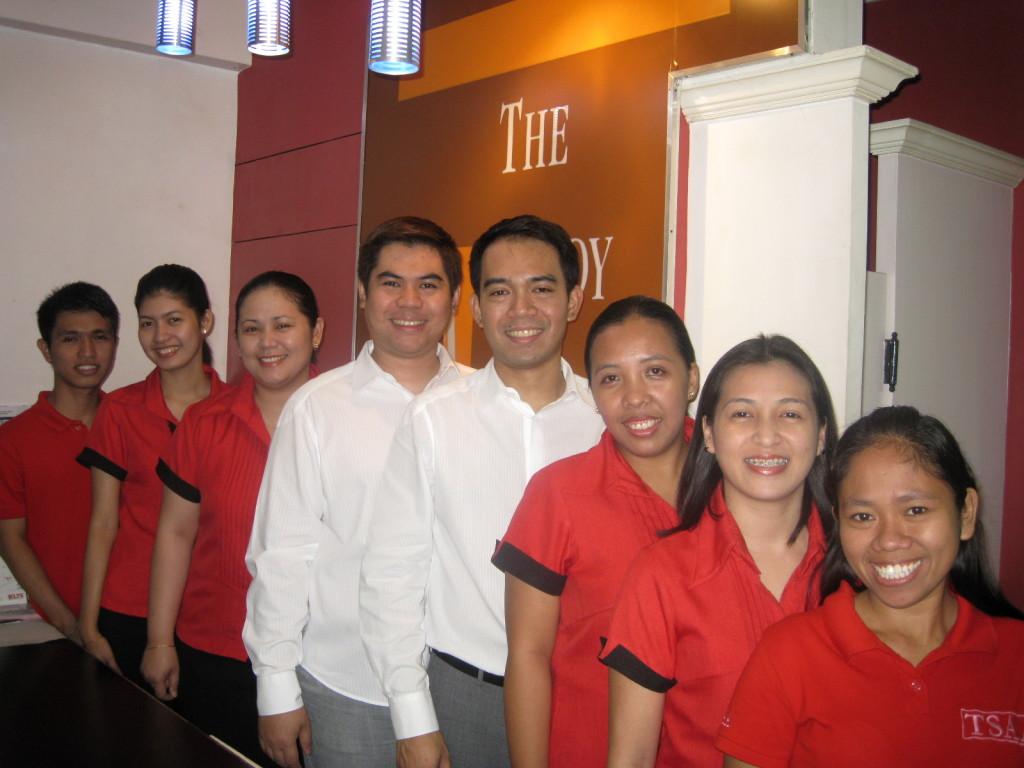 TSAA staff