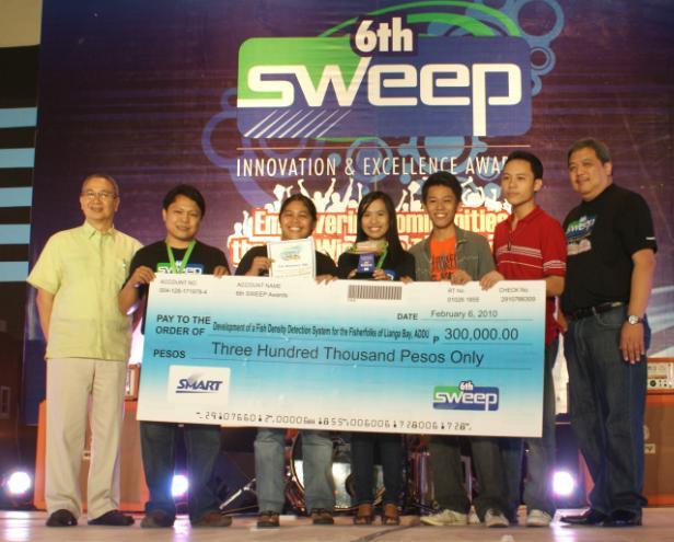 Ateneo de Davao team wins P300,000 in SWEEP.