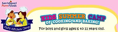 San Miguel Great Food Club: Kids Kitchen Camp