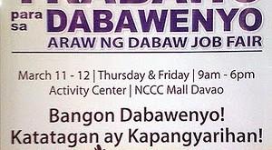 Trabaho para sa Dabawenyo