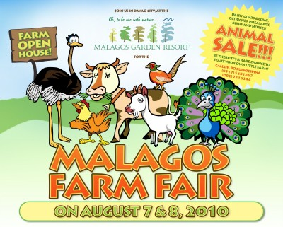 Malagos Farm Fair on August 7-8, 2010
