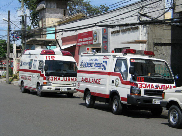 Davao Central 911 vehicles