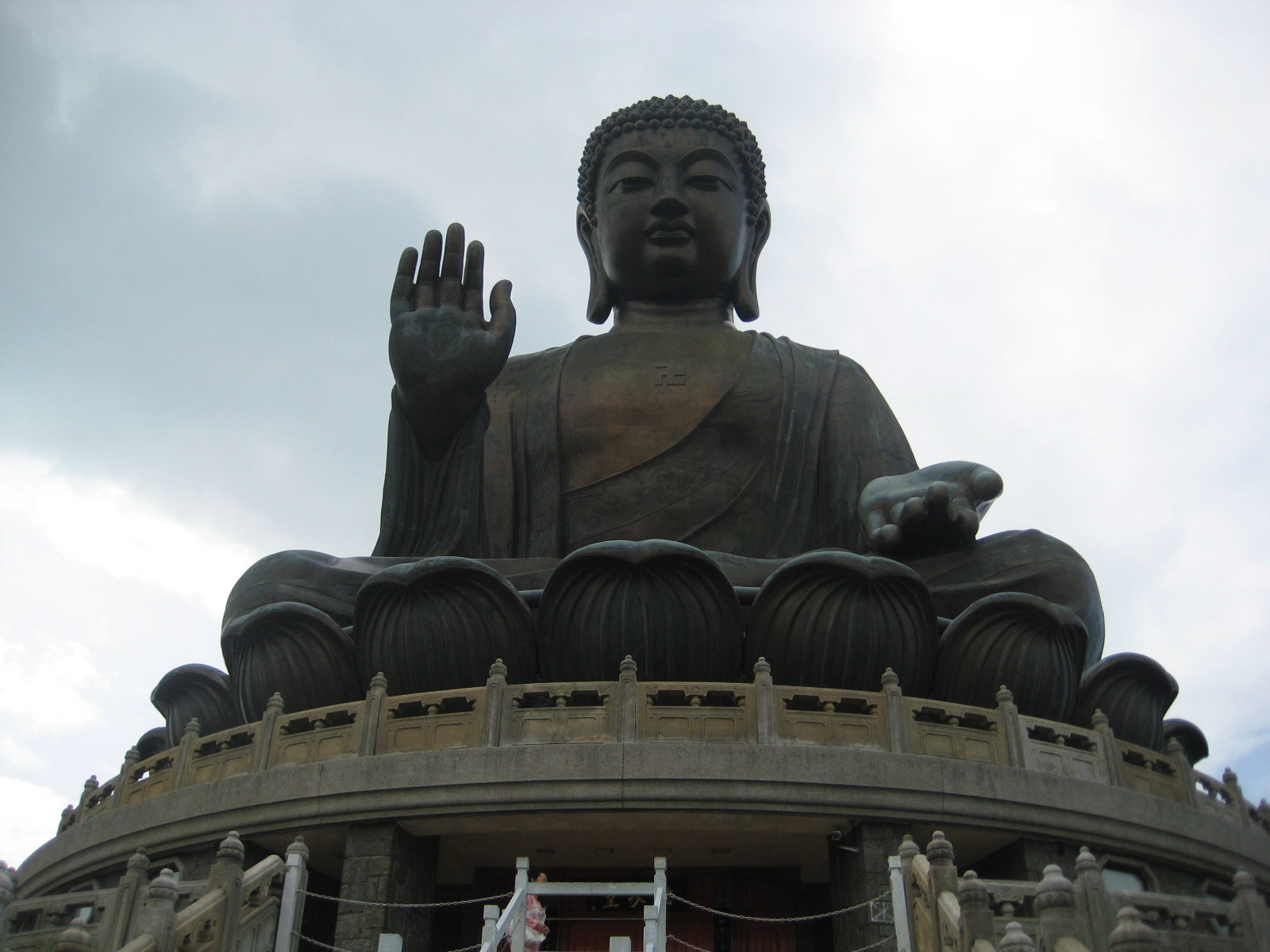 The Giant Buddha in Ngong Ping, Hong Kong