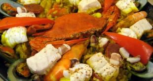 Tiny Kitchen's signature dish: Paella Valencia