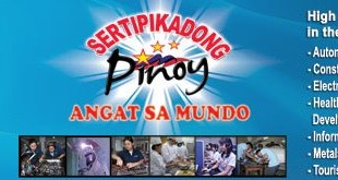 TESDA launches NATCAC week for worker assessment and certification. Sertipikadong Pinoy: Angat Sa Mundo!