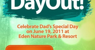 Eden Nature Park: Daddy's Day Out special package for Father's Day on June 19, 2011
