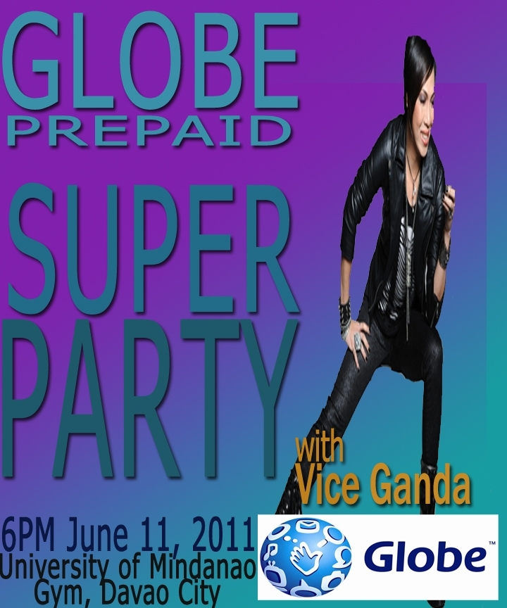 Globe Super Party with Vice Ganda