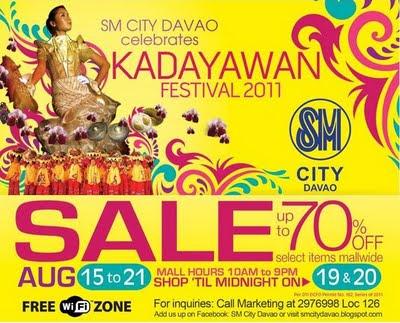 Kadayawan Sale at SM Davao
