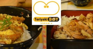 Katsudon and Chicken Teriyaki at Teriyaki Boy in Abreeza Mall
