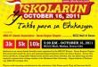 Iskolarun Takbo Para sa Edukasyon Fun Run in Davao City on October 16, 2011