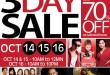 SM 3-Day Sale