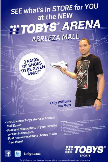 Toby's Abreeza Online Photo Contest
