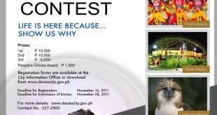 Hulagway: Davao Life is Here photo contest