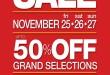 SM City Davao Thanksgiving Sale on November 25-27, 2011