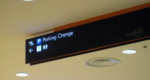 What is a Parking Orange? Seen at Abreeza Mall