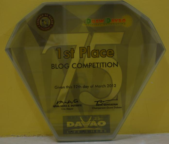 Araw ng Dabaw blog contest