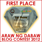 DavaoBase Wins FIRST PLACE in Araw ng Dabaw Blog Competition