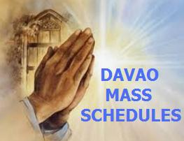 View mass schedules in Davao City churches
