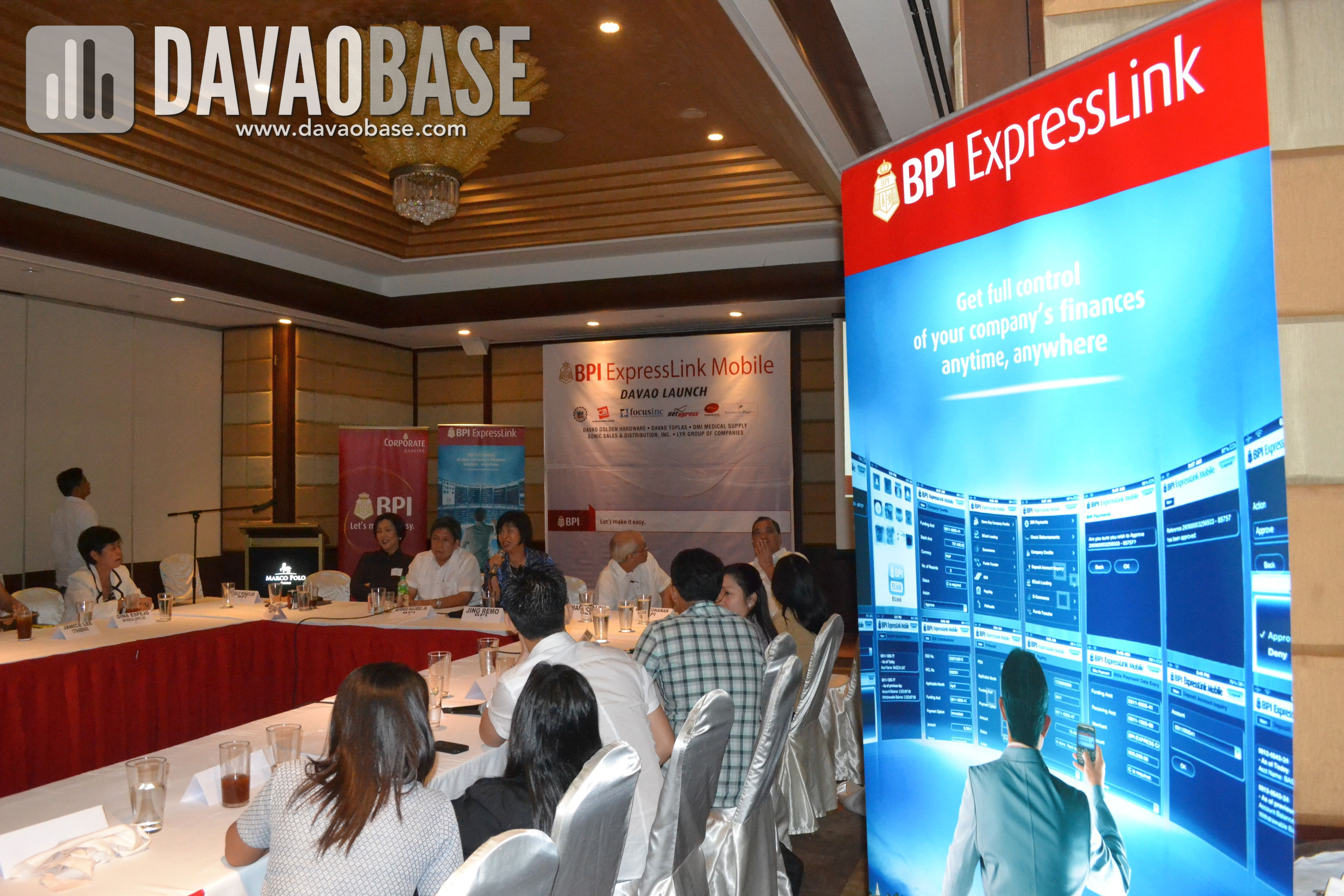 BPI ExpressLink Mobile launch in Davao