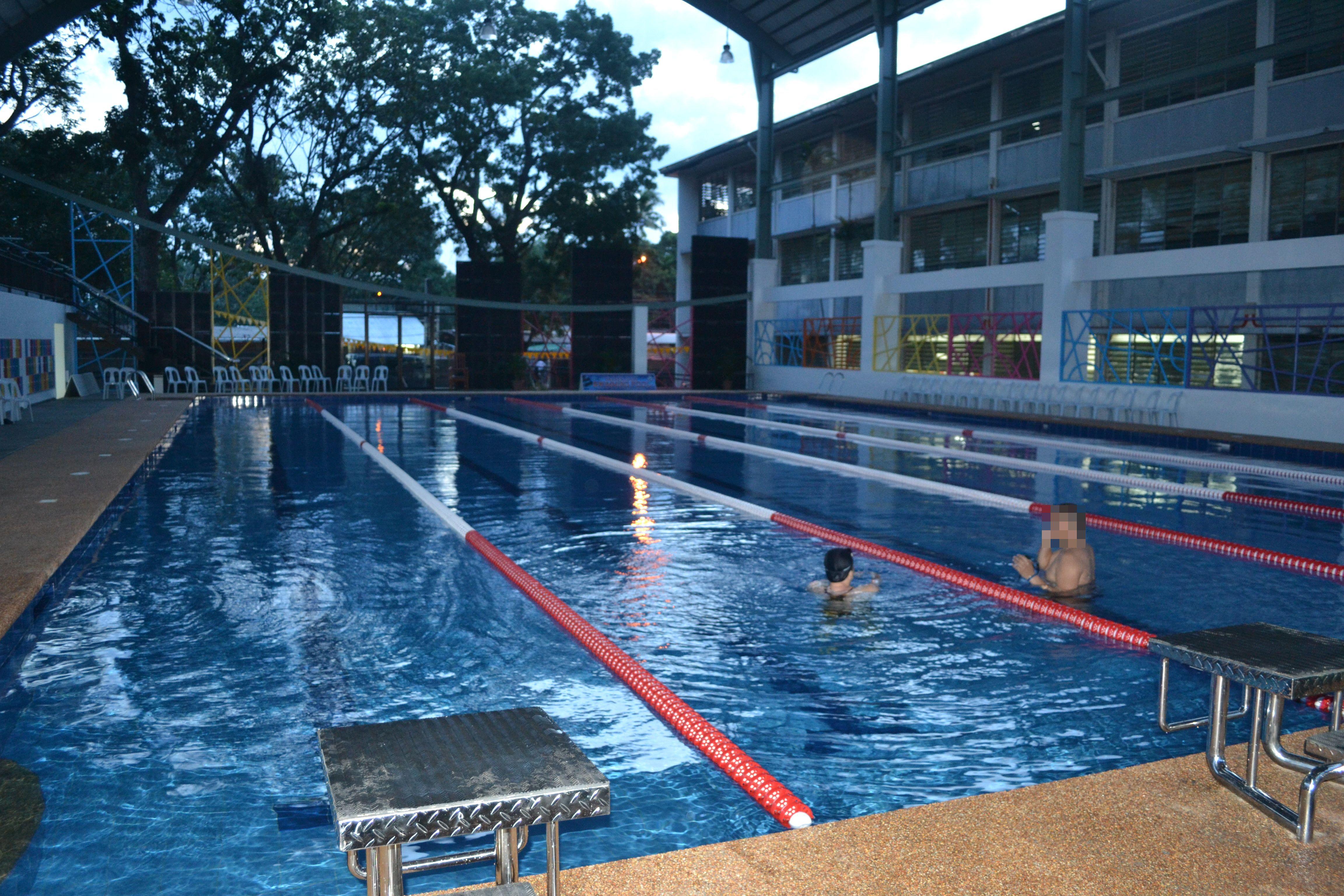 Ateneo De Davao University 39 S Swimming Pool And Rubberized Sports Track Davaobase