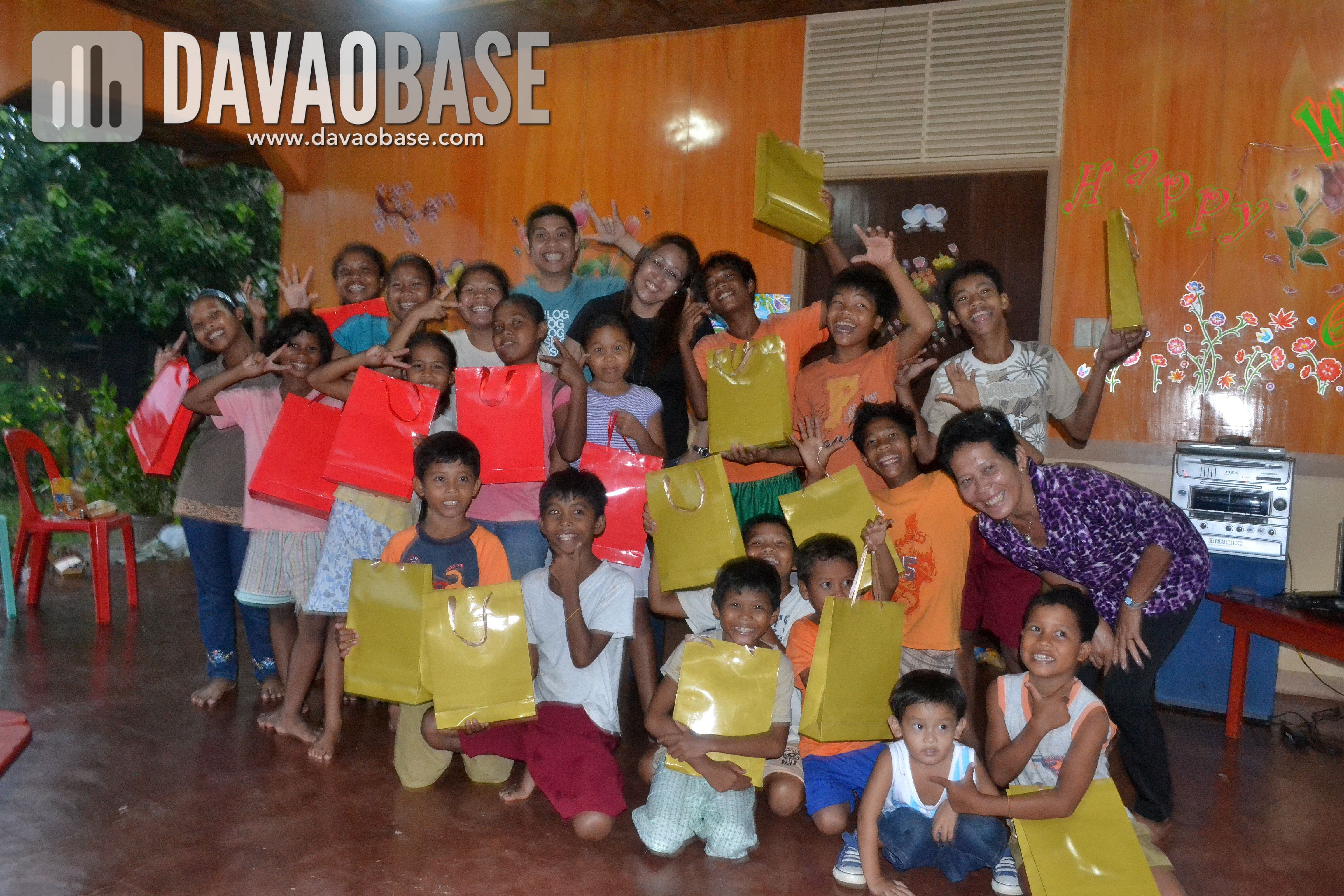 DavaoBase with Pag-amoma kids