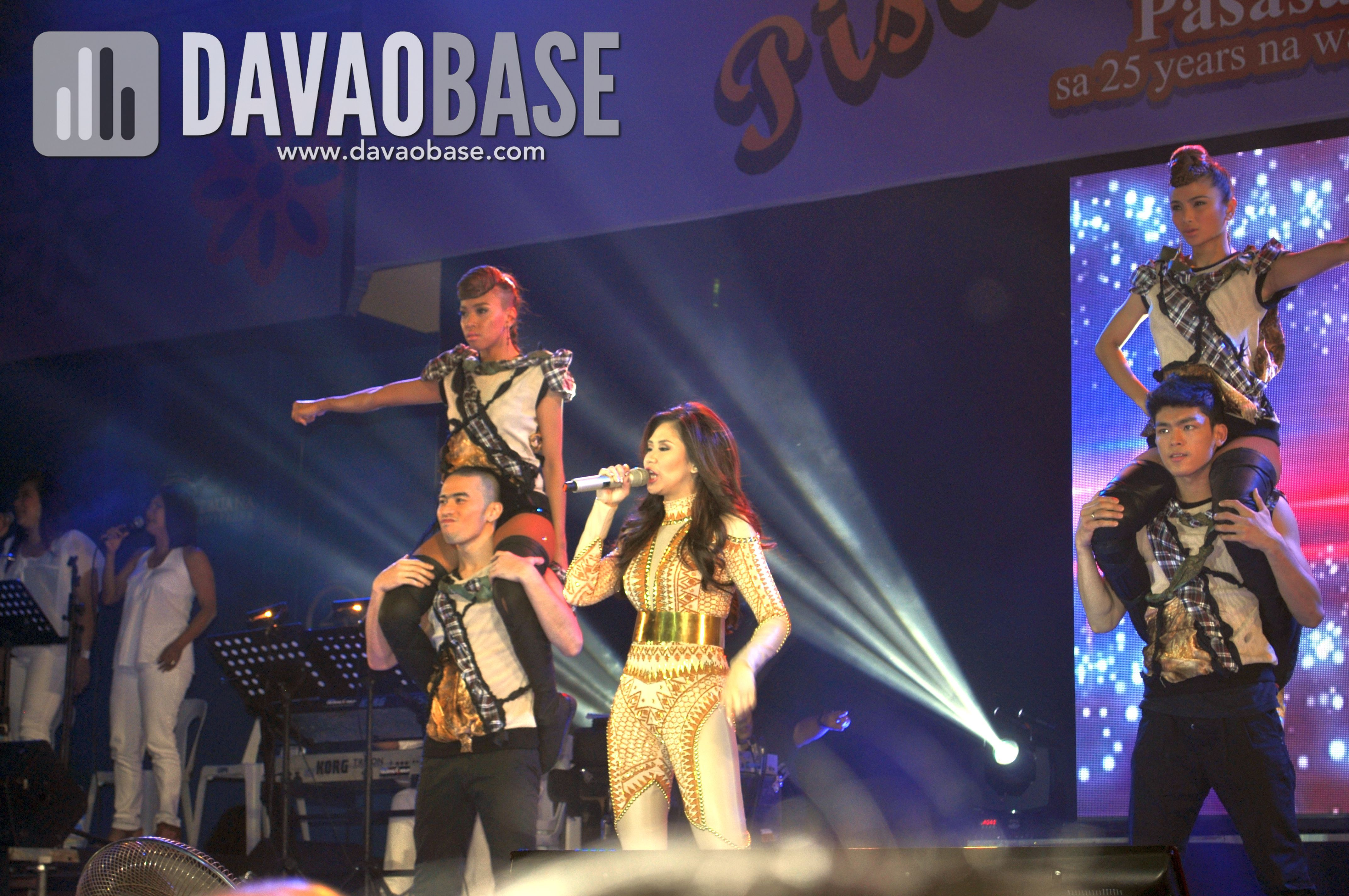 Sarah Geronimo in Pistahang Cebuana - Davao leg