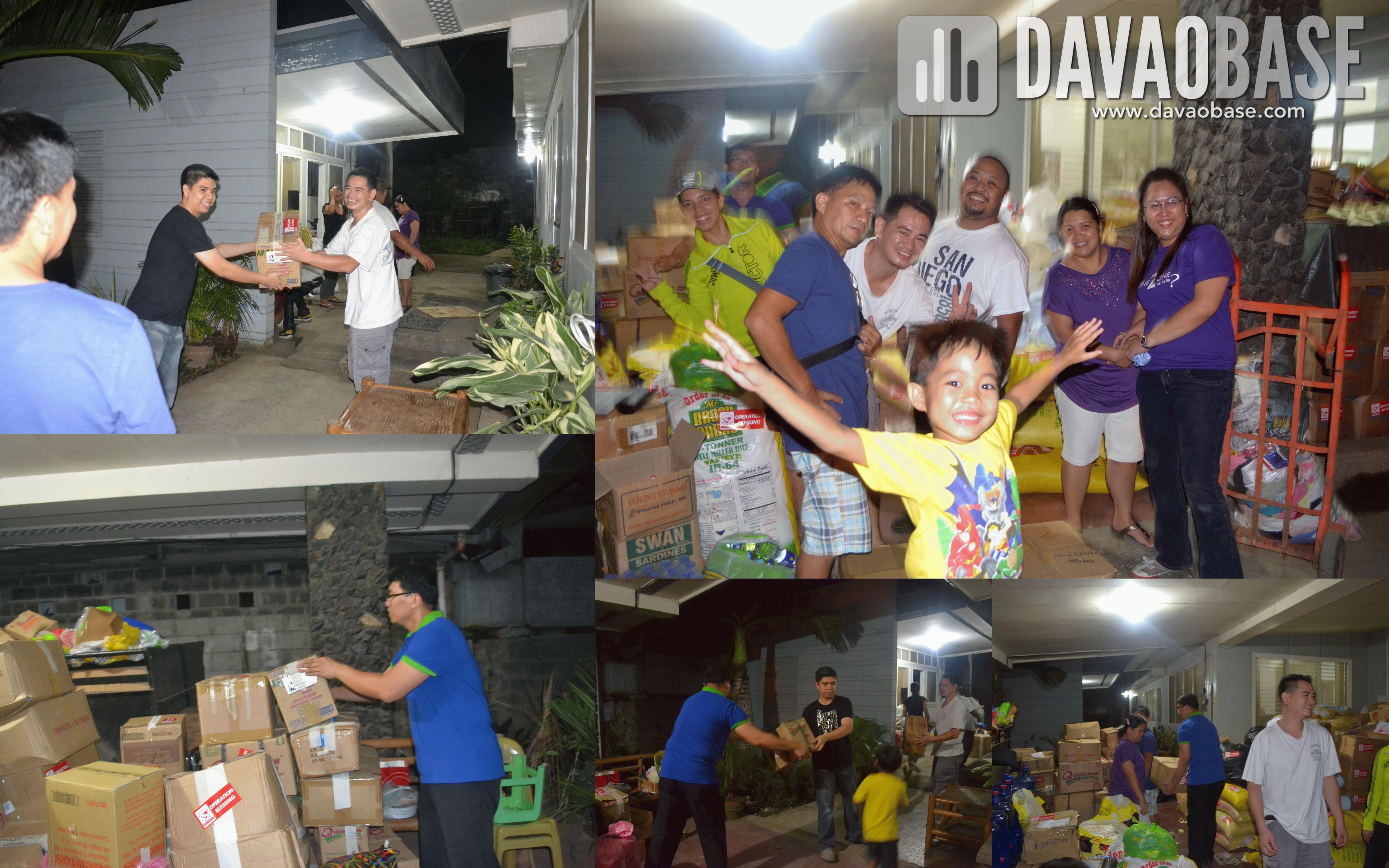 DavaoBase in Operation Blessing with VCF friends
