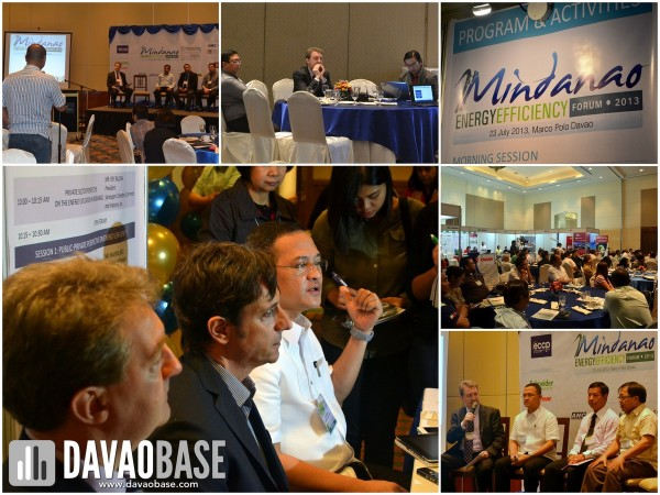 Experts and participants exchanged ideas during the Mindanao Energy Efficiency Forum