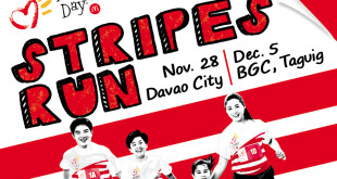 2015 McHappy Day Stripes Run in Davao City