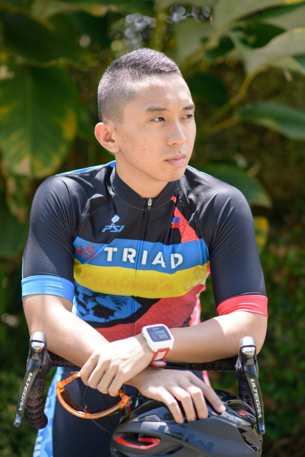 Jj Sarona, Triathlete
