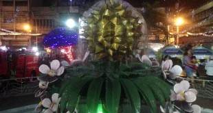 Davao durian water fountain