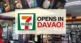 The first 7-Eleven store in Mindanao just opened! [Photo from Abreeza Mall]