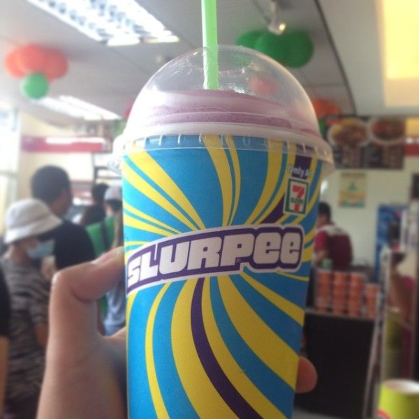 Dabawenyos, are you ready to get brain freeze? Get your Slurpee at 7-Eleven Davao! [Photo from Bianca Delgado]