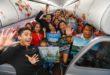 AirAsia inaugural flight KL-DVO
