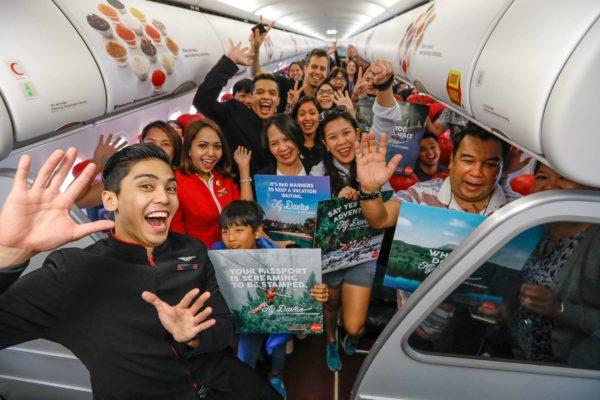 AirAsia launches direct flight Davao - Kuala Lumpur