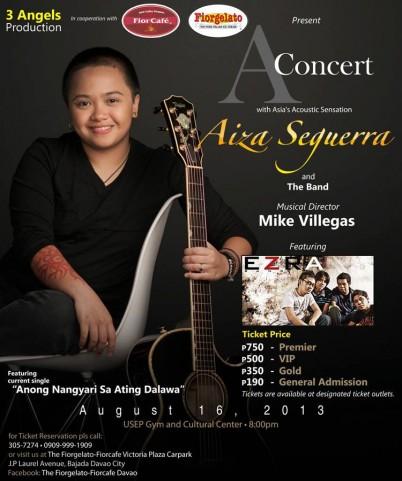Aiza Seguerra concert in Davao