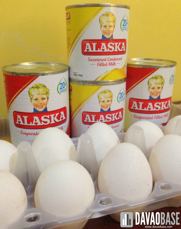 Alaska milk and eggs