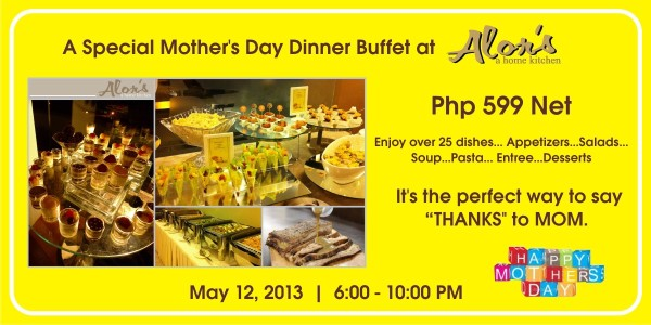 Alors Mothers Day buffet