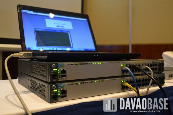 BYOD networking peripherals from HP and MEC in Davao