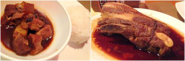Balai humba and pork ribs