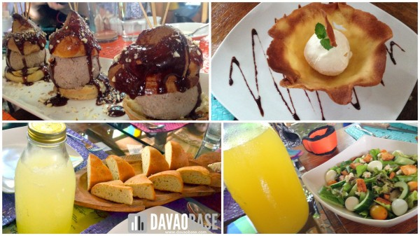 Balik Bukid refreshments and desserts