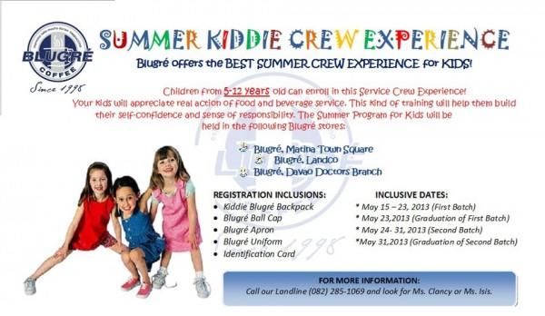 Blugre kiddie crew