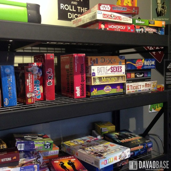 Board Games in Burgers and Board Games