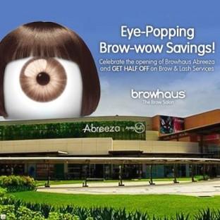 Browhaus opening promo