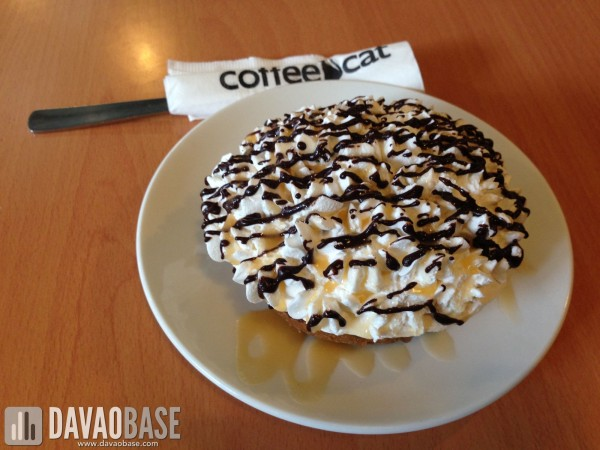Coffee Cat Banoffee Pie
