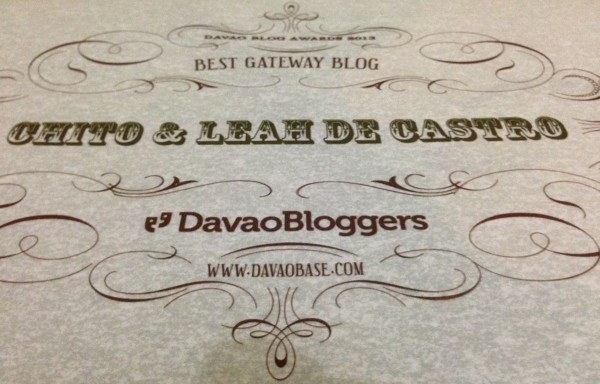 Davao Blog Awards 2013: DavaoBase.com - Best Davao Gateway Blog